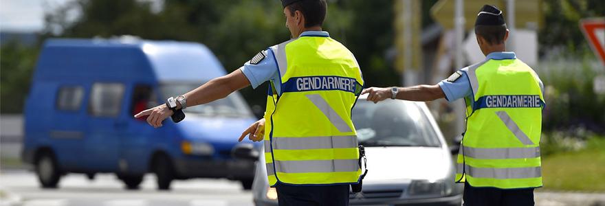 gendarme gardien de la paix