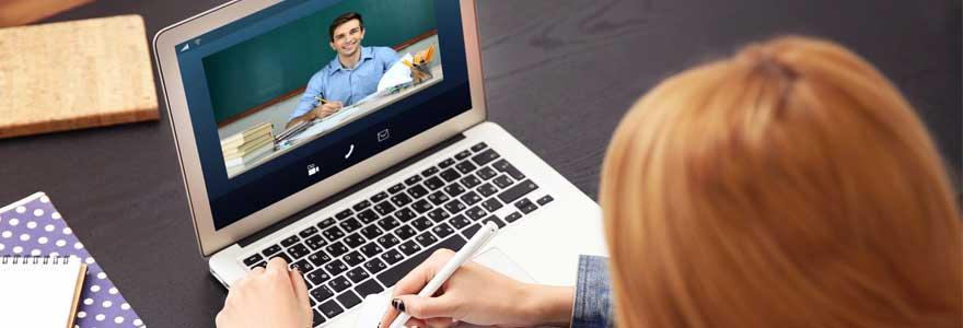 Bon professeur en ligne